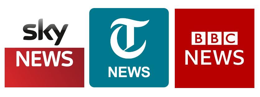 UK Media websites